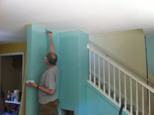 Duplex Frank painting